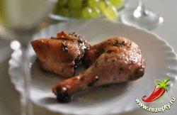 Курица в винном соусе