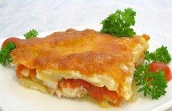 Лососина с картофелем