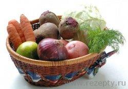 Овощная трилогия