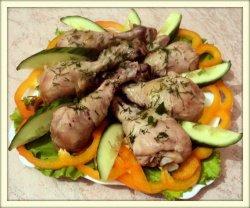 Рецепт курицы в духовке, приготовленной в банке