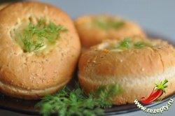 Рецепт булочек с начинкой