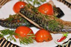 Рецепт жареной скумбрии