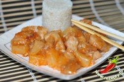 Рецепт курицы в кисло-сладком соусе