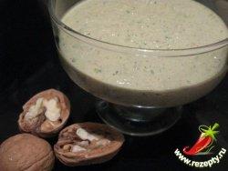 Рецепт орехового соуса