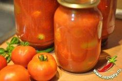 Рецепт помидоров в собственном соку