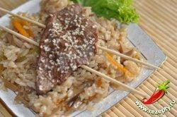 Рис с овощами по-китайски