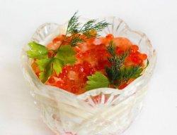 Салат из даров моря