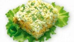 Салат с консервами рыбными