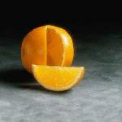 Салат из апельсинов с орехами
