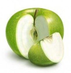 Салат из кальмаров и яблоками
