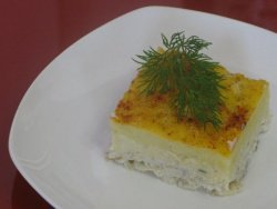 Блюда из рыбы рецепты с фото - пасхальная рыбная запеканка