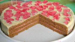 Простой торт Вишневая фантазия