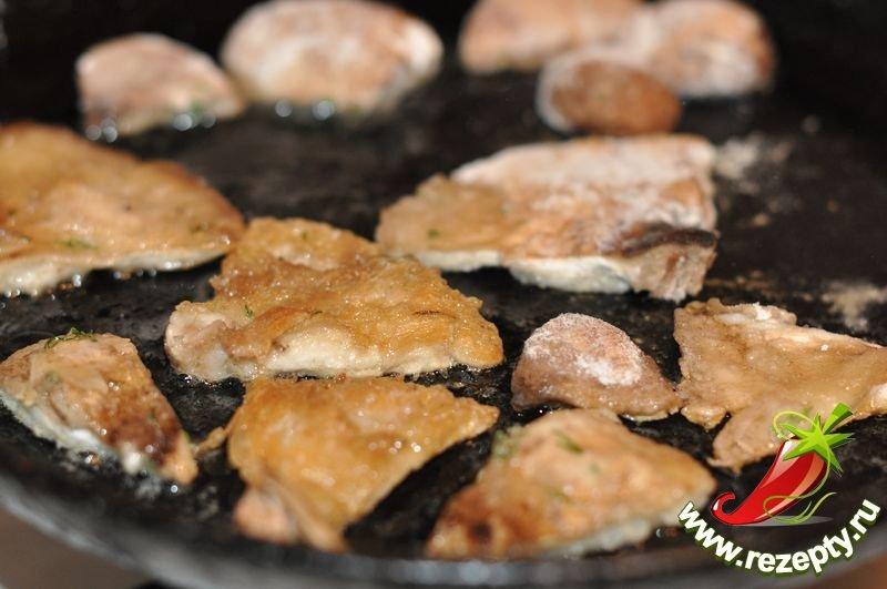 Как пожарить грибы зонтики рецепт с фото