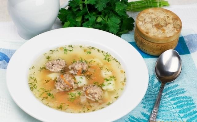 рецепт вкусного и простого супа с мясом
