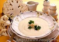 Суп-суфле из цветной капусты