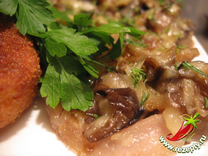 Свинина с грибами кулинарные рецепты