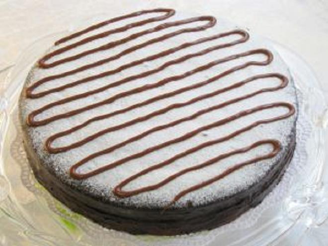 Торт на кефире – рецепт