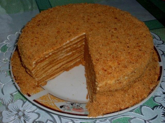 Торт рыжик кулинарные рецепты на