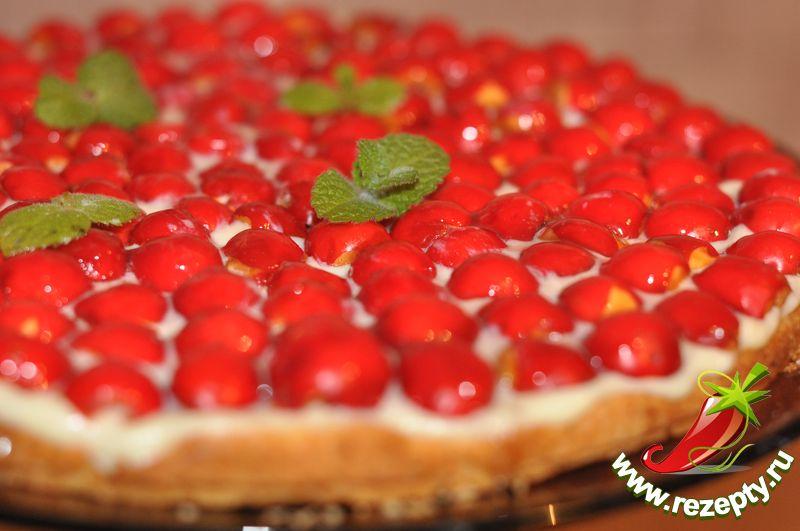 Торт с райскими яблочками