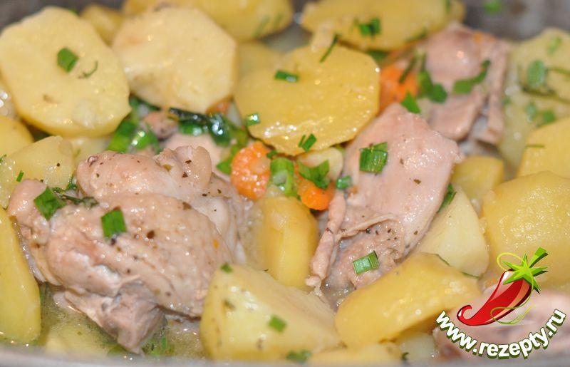 Куриное филе тушеное с картофелем рецепты