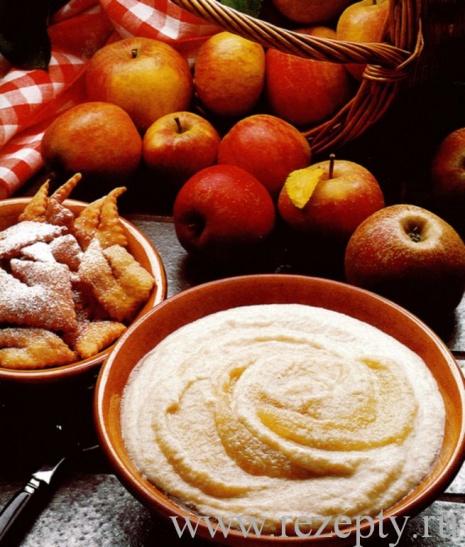 Яблочный крем