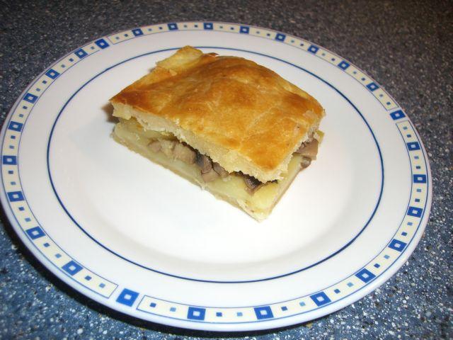 Пирог с грибами кулинарные рецепты