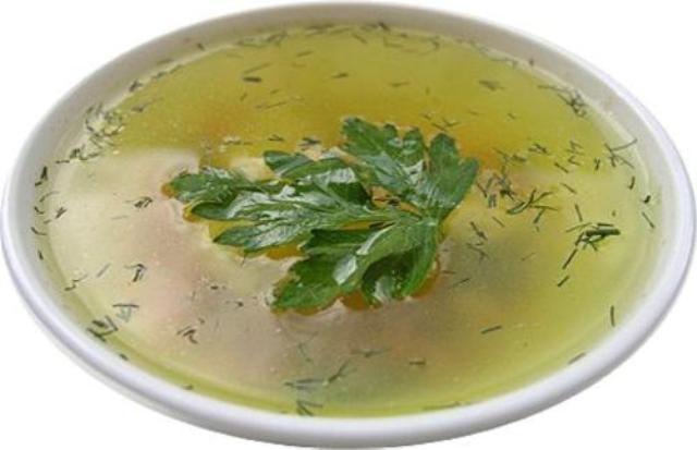 Зелень к супу