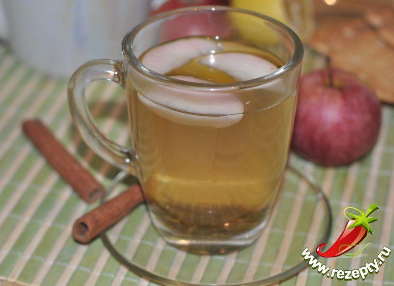 Зелёный чай с корицей