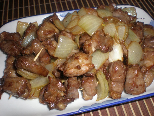 Свинина жареная кусочками рецепты фото